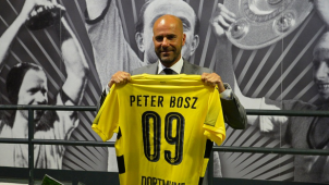 Borussia Dortmund unveiled Peter Bosz as a new head coach