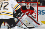 Cory Schneider makes incredible save for the New Jersey Devils